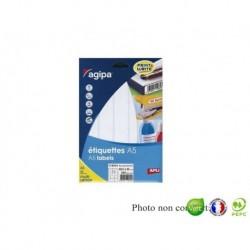 APLI AGIPA Étiquettes de bureau MULTI-USAGES A5 38,5 x 65 mm