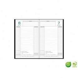 EXACOMPTA Agenda de caisse perpétuel 14,8x21cm