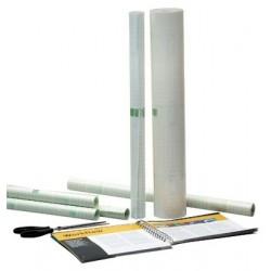 APLI Film de protection adhésif transparent en rouleau 60 cm x 10 m