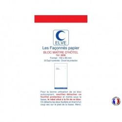ELVE Bloc maître d'hôtel dupli bleu/rouge 7,5 x 15 cm