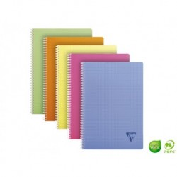 CLAIREFONTAINE Cahier Linicolor 100 pages 5x5