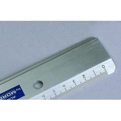 Règle plate aluminium 50 cm