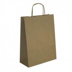 APLI 50 sacs cabas Kraft brun