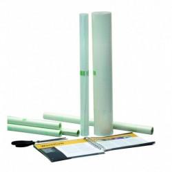 APLI Rouleau de film de protection adhésif transparent 50 cm x 1,5 m