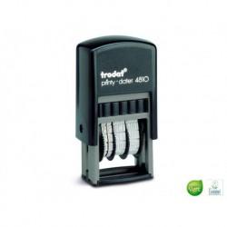 TRODAT Dateur à encrage automatique T4810 caractère 3,8 mm