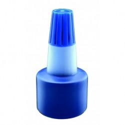 Encre pour tampons bleu