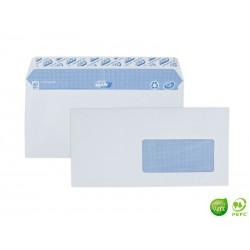 GPV Boîte de 500 enveloppes DL fenêtre 35 x 100 mm