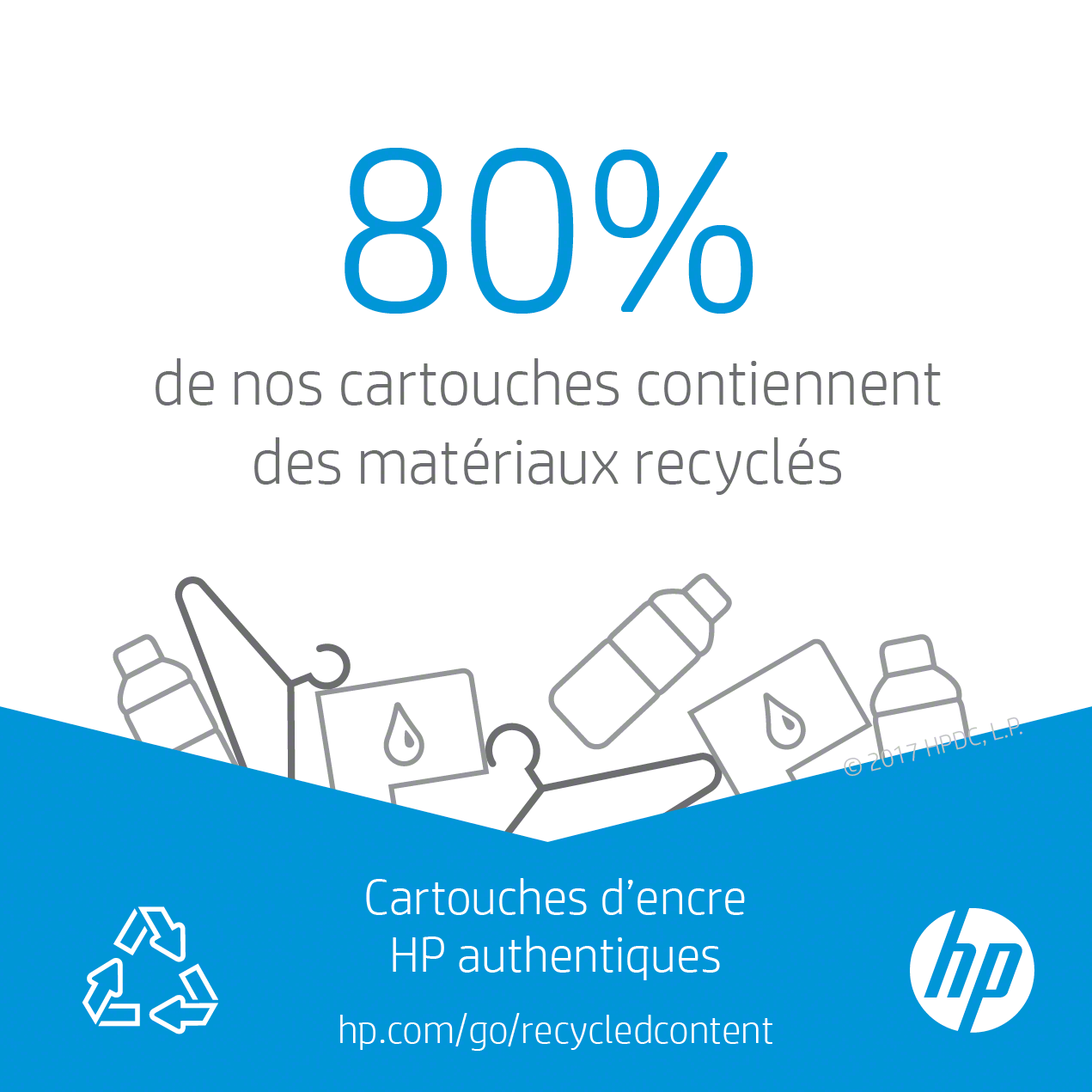 recyclage hp 302